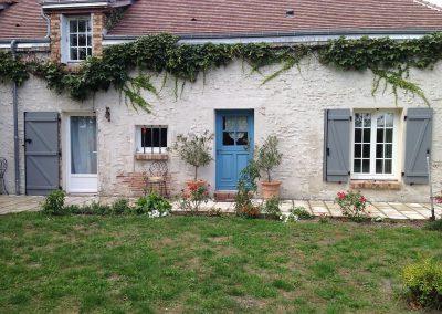 Chantier Huisseau-sur-Mauves : volets aluminium