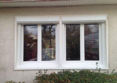 Chantier Saint-Jean de la Ruelle : fenêtres PVC