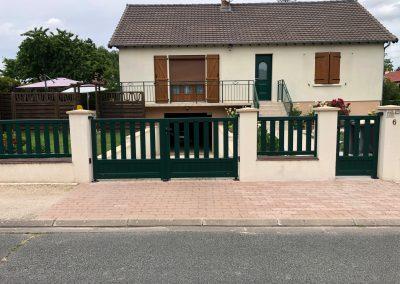 CHANTIER ST AY : Portail, Portillon et clôture